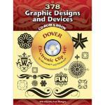 【预订】380 Graphic Designs and Devices [With CDROM]
