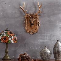 欧式家居鹿头壁饰壁挂酒吧客厅动物头装饰墙面饰品墙上装饰