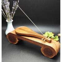 古典古琴音乐机沉檀香线香香道用具琵琶香插礼品套装精品念佛机