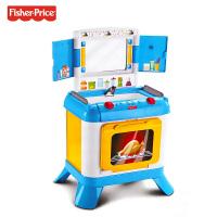 费雪三合一探索厨房 儿童过家家音乐早教玩具幼儿园玩具儿童节礼物 三合一探索厨房