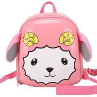 卡拉羊儿童书包幼儿园女幼儿小书包宝宝背包1-2-3岁减负双肩包CX6025