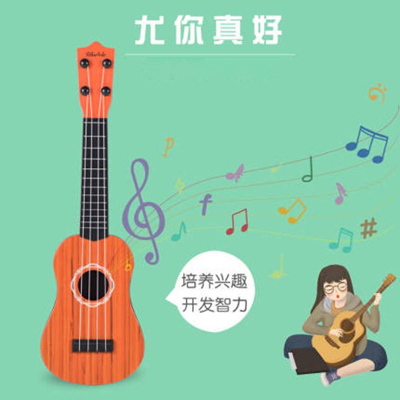 初学者儿童吉他玩具可弹奏男孩宝宝乐器1-3-6岁小孩
