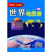 (2017年新版)世界地图册(大字版)