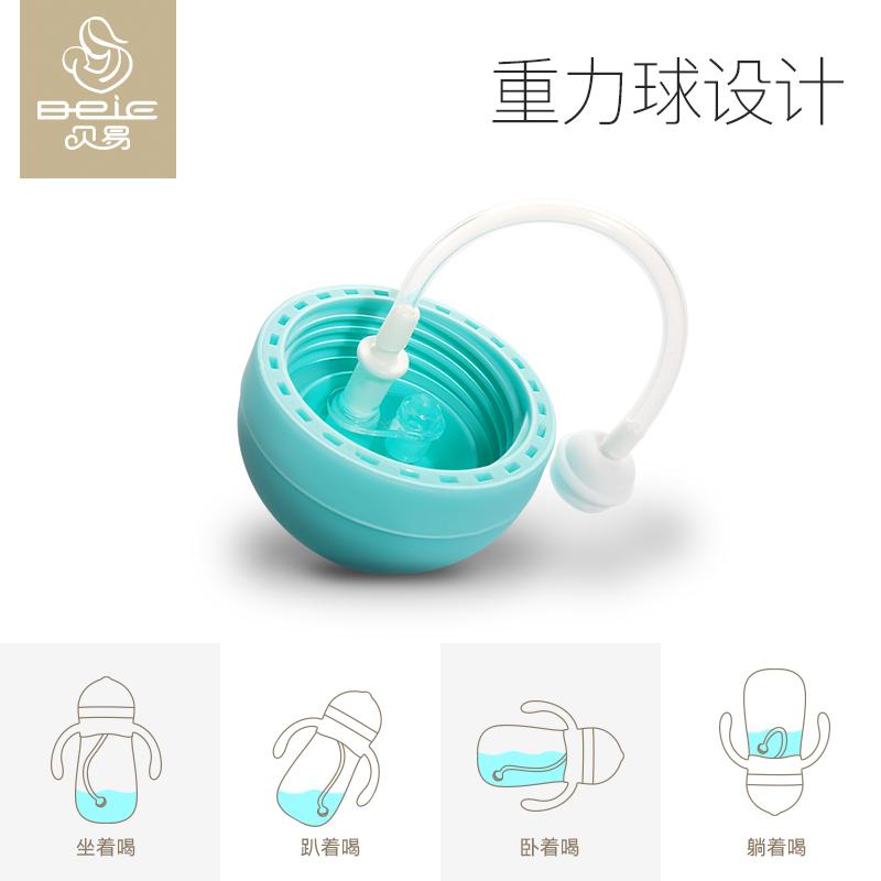 6-18个月 宝宝学饮杯婴儿吸管杯儿童水杯幼儿园带手柄