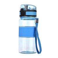 红兔子 便携防漏杯子运动水壶水杯350ML 蓝色