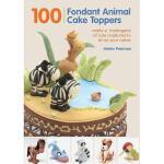 【预订】100 Fondant Animal Cake Toppers: Make a Menagerie of