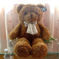 泰迪熊毛绒玩具1.6米1.8抱抱熊生日礼物送女友超*布娃娃