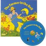 英文原版 The Farmer in the Dell 农夫在小溪谷 附CD 超大开本 Child's Play儿歌洞