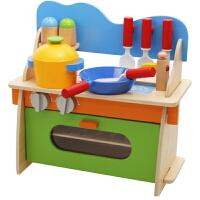 过家家厨房玩具 女孩做饭煮饭厨具餐具儿童过家家玩具套装
