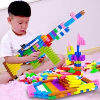 大号子弹头积木幼儿童塑料拼插2-6岁男女孩宝宝拼装益智早教玩具