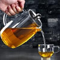 大容量玻璃壶透明不锈钢过滤泡茶壶花茶器茶具