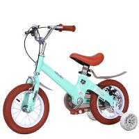 儿童自行车3岁宝宝脚踏2-4-6岁6-7-8-9-10岁童车男孩女孩小孩单车 +后碟刹+悍马闪光轮