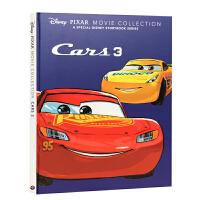 英文原版绘本 Disney Pixar cars 3 movie collection 迪士尼 赛车汽车总动员3极速挑
