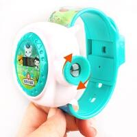 海底小纵队玩具儿童卡通手表投影电子表男女孩小学生抖音玩具手表 海底小纵队卡通手表儿童节礼物 投影手表