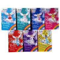 英文原版Rainbow Magic: Party Fairies 15-21 7本彩虹魔法仙子