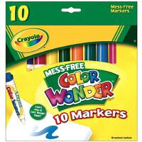 Crayola绘儿乐 10色神彩马克笔 水彩笔 需配神彩填色本 75-2210
