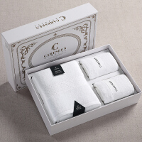 酒店浴巾大毛巾礼盒装1浴+2面
