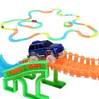 益米 玩具车托马斯 小火车头套装赛车轨道汽车 儿童玩具男孩轨道车套装