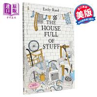 【中商原版】Emily Rand The House Full Of Stuff 堆满东西的房屋 精品绘本 儿童环保自我