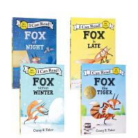 英文原版绘本I Can Read初级阶段系列ICR Fox/ICR Fox the Tiger/ICR Fox vers
