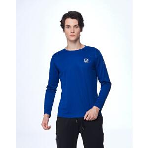 【限时秒杀到手价:112元】paul?frank/大嘴猴男士长袖T恤简约跑步健身打底衫休闲百搭