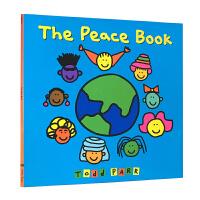 【全店300减100】英文绘本The Peace Book 保持心情愉悦 纽约时报畅销书Todd Parr 进口正版原版