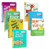 英文原版 苏斯博士低幼适龄版套装7册 廖彩杏书单The Tooth Book/the nosebook/Ten Appl