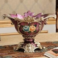 欧式复古树脂花瓶创意客厅家居装饰品餐桌插花器插花摆件奢华
