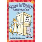 """【中商原版】学乐分级读物1级 猫问那是什么 英文原版 """"What Is That?"""" Said the Cat (He"""