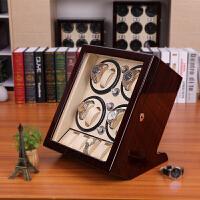 手表收纳盒自动摇表器机械表架德国品质上弦转表器开合上链晃表器 8+5表位 外檀+内白 开盖自停