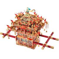 凤冠花轿金属拼装模型3d立体拼图 diy手工礼物惊喜的创意节日礼品