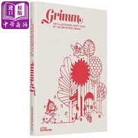 【中商原版】格林童� 英文原版 Grimm 格林兄弟 精�b 童�故事�L本 �和�文�W