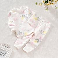 婴儿宝宝棉儿童保暖睡衣新生儿衣服