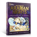 英文原版 Tales From the Arabian Nights 天方夜谭 阿拉伯古老神话 全彩插画精装版启蒙8-
