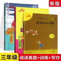 2019新版阅读与写话阅读真题80篇阶梯阅读三年级上下册全套阅读写作真题训练 小学3年级语文同步课外