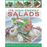 【预订】175 High-Energy Salads: Nutritious Salads for Every