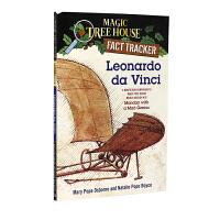 神奇树屋 英文原版童书 Leonardo Da Vinci: A Nonfiction Companion to Ma