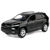 吉普车合金车模 仿真汽车模型玩具车车模型摆件小汽车 黑 色 自由光 散装