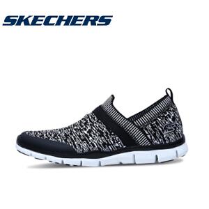 skechers斯凯奇品牌新款运动鞋 橡筋一脚套女鞋 懒人休闲鞋22772
