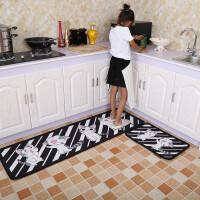 厨房地垫脚垫浴室防滑垫子长条吸水地毯门垫家用进门