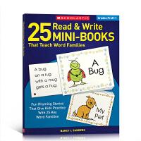 英文原版25 Read and Write Mini-Books That Teach Word Families 阅