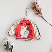 宝宝棉衣男1-3岁2018新款2冬装男童加绒加厚4儿童棉袄外套5女