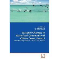 【预订】Seasonal Changes in Waterfowl Community of Clifton