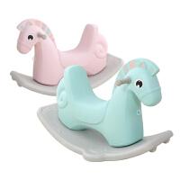 厚两用1-6周岁礼物 儿童木马摇摇车玩具宝宝摇摇马塑料大号