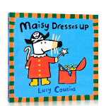 顺丰发货 英文原版 绘本小鼠波波 Maisy Dresses Up 廖彩杏书单纽约时报 3-6岁幼儿趣味绘本读物 Lu