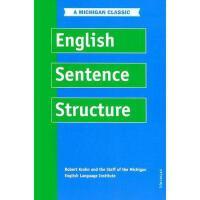 【预订】English Sentence Structure