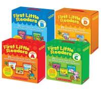 (198减40)First Little Readers level ABCD 小读者系列 我的阅读小套装100册合售 3-4-5-6-7-8岁学习英文入门 儿童学习英文小读者 儿童认知启蒙 送音频