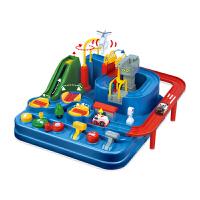 同款玩具汽车大冒险小火车轨道车停车场套装智力儿童男孩闯关