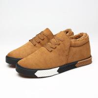CUM 潮牌2017青春潮流男士棉鞋加棉保暖休闲鞋三次硫化鞋学生板鞋