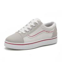 帆布鞋女学生平底板鞋子百搭春季新款女鞋街拍小白鞋